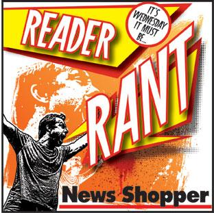Read News Shopper's daily opinion columns and have your say