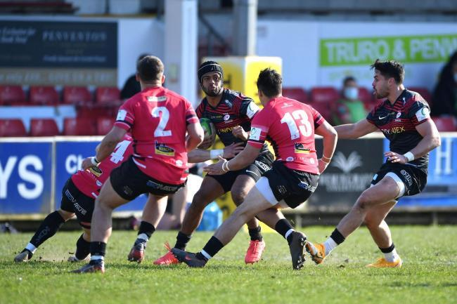 BEATEN: Saracens lost out against Cornish Pirates in their Championship opener
