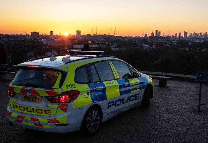 Met Police were called to Plumstead, south east London, on Easter Sunday