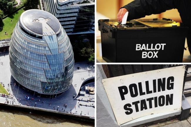 Londoners will vote for new constituency and London-wide Assembly members on May 6 as well as the Mayor of London. Credit: PA/Newsquest