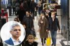 Sadiq Khan has said that shoppers and tourists returning could 'kickstart' a return to office working. Credit: PA/Newsquest