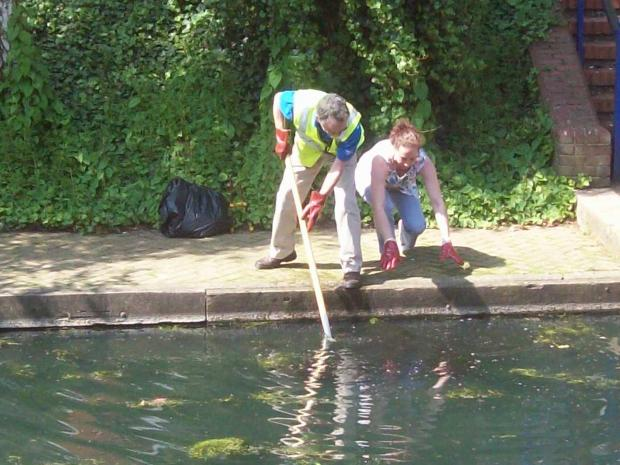 A previous Trust Thamesmead river clean up