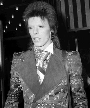 This Is Local London: IN CHARACTER: David Bowie at the premiere of Bond film Live and Let Die in London in 1973