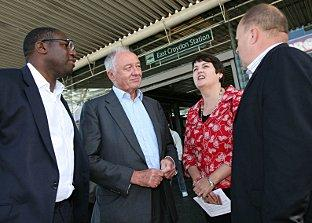 Ken Livingstone looks to China to regenerate Croydon