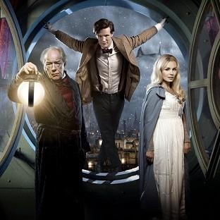 This Is Local London: Matt Smith stars as the Doctor alongside Michael Gambon and singer Katherine Jenkins in the Doctor Who Christmas special
