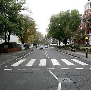 This Is Local London: The pedestrian crossing outside the Abbey Road Studios in London, which has been given listed status