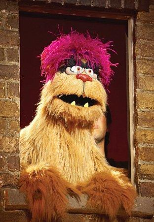 This Is Local London: Avenue Q's Trekkie Monster. Photo: Brinkhoff Mogenburg