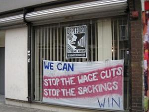 Squatters take over disused Deptford Jobcentre