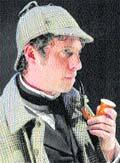 This Is Local London: Javier Marzan as Sherlock Holmes