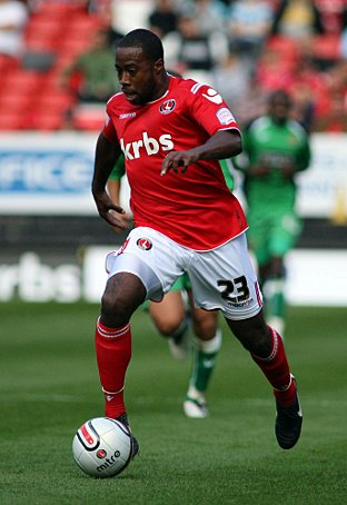 Joe Anyinsah is moving on after being released by Charlton. EDMUND BOYDEN.