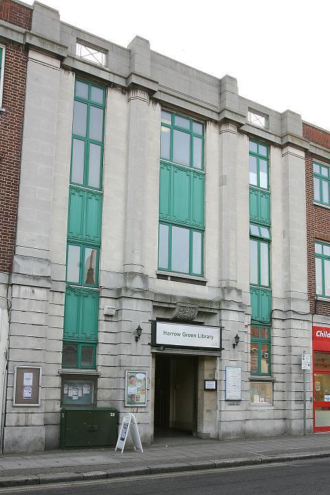 Harrow Green library in Leytonstone is one of the branches earmarked for closure.