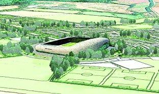 Stadium project axed