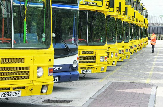 Bus travel for Kent schoolchildren will still be subsidised but the price is set to double.