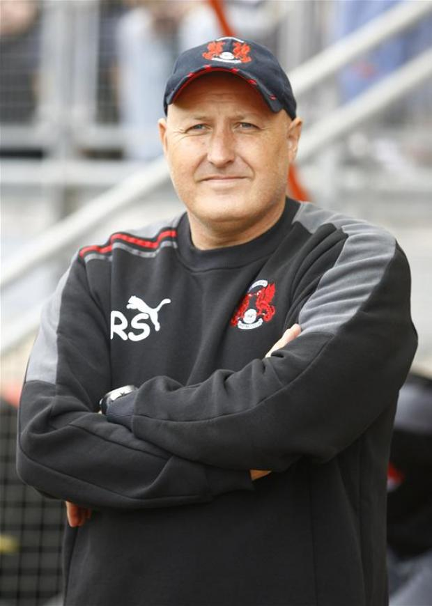 Russell Slade's side travel to bottom club Hartlepool this weekend: Action Images
