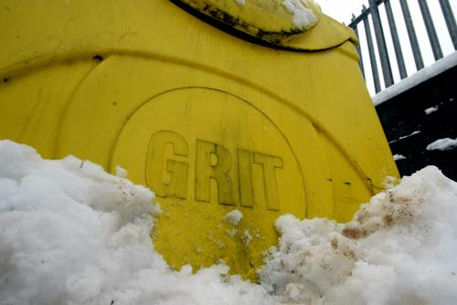 Gritters out to tackle snow but schools remain open