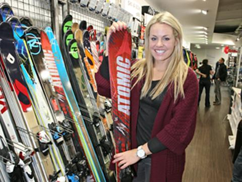 Councillors propose naming new Surbiton street after Twickenham ski star Chemmy Alcot
