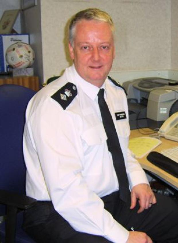 Chief Superintendent Matt Bell