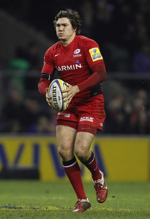 Alex Goode made his England debut in their defeat to South Africa: Action Images