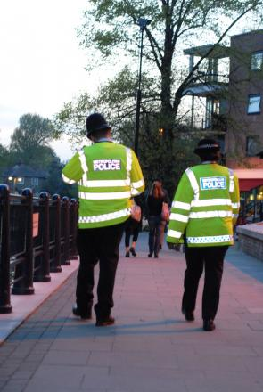 An estimated 299 police officers are currently working full time in Kingston
