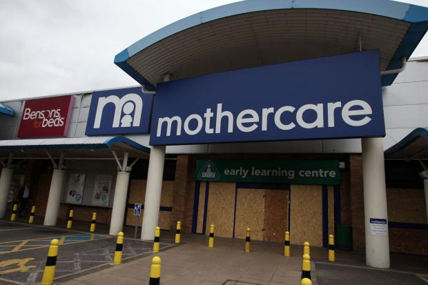 Mothercare was one of many shops devastated by looting in the Colliers Wood Tandem Centre in August 2011