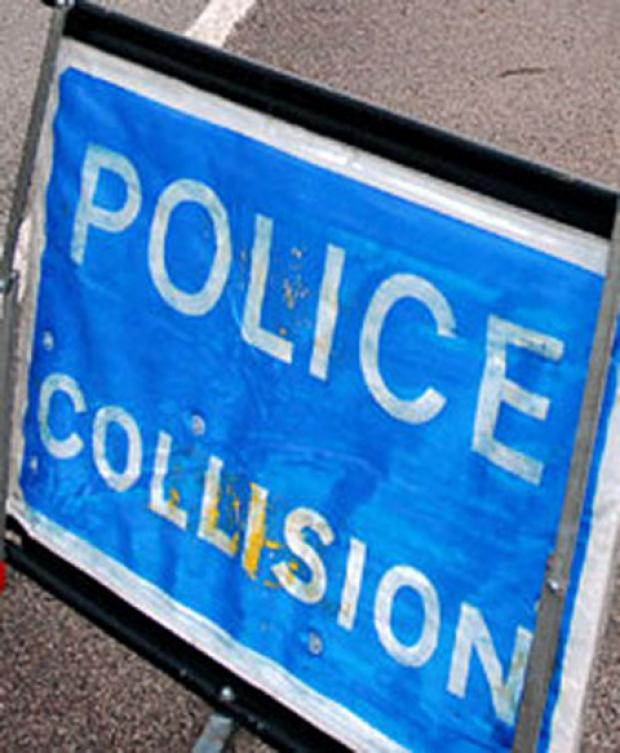 M25 blocked anti-clockwise near Orpington due to motorbike accident