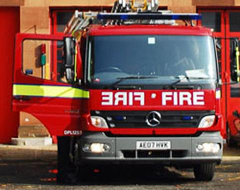 Three sheds burned down in suspected arson attack