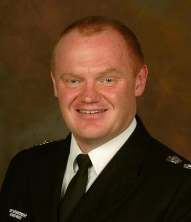 Borough Commander Richard Wood