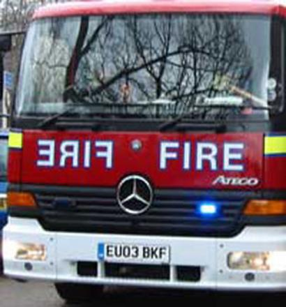 10 firefighters tackling blaze in flat in Grove Street, Deptford