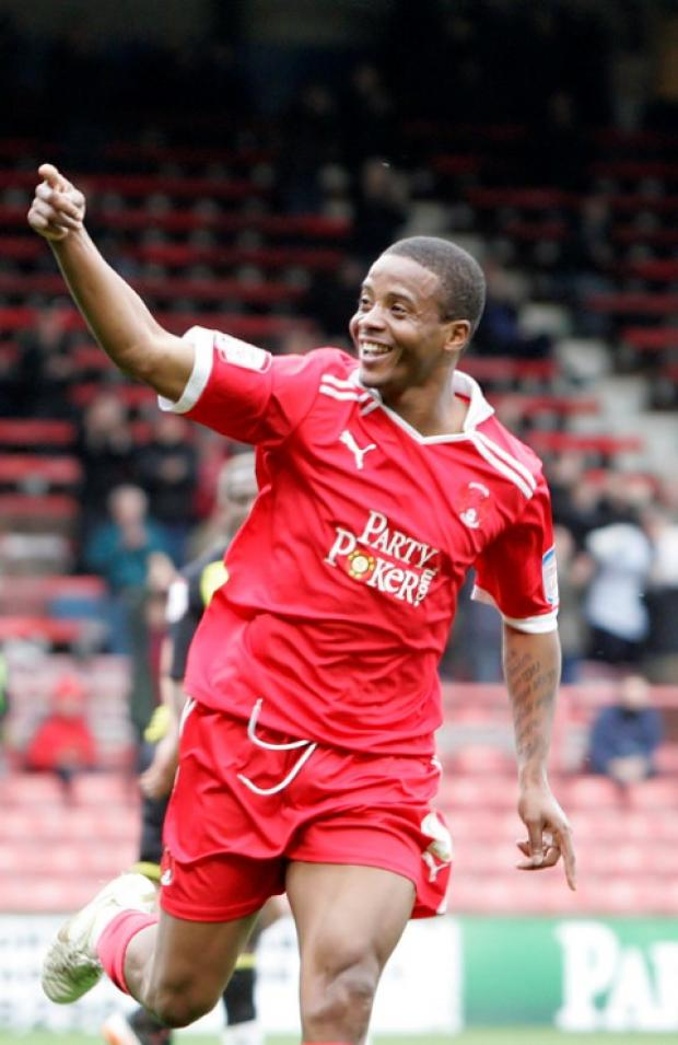 Kevin Lisbie netted twice in the O's win at the weekend: Simon O'Connor