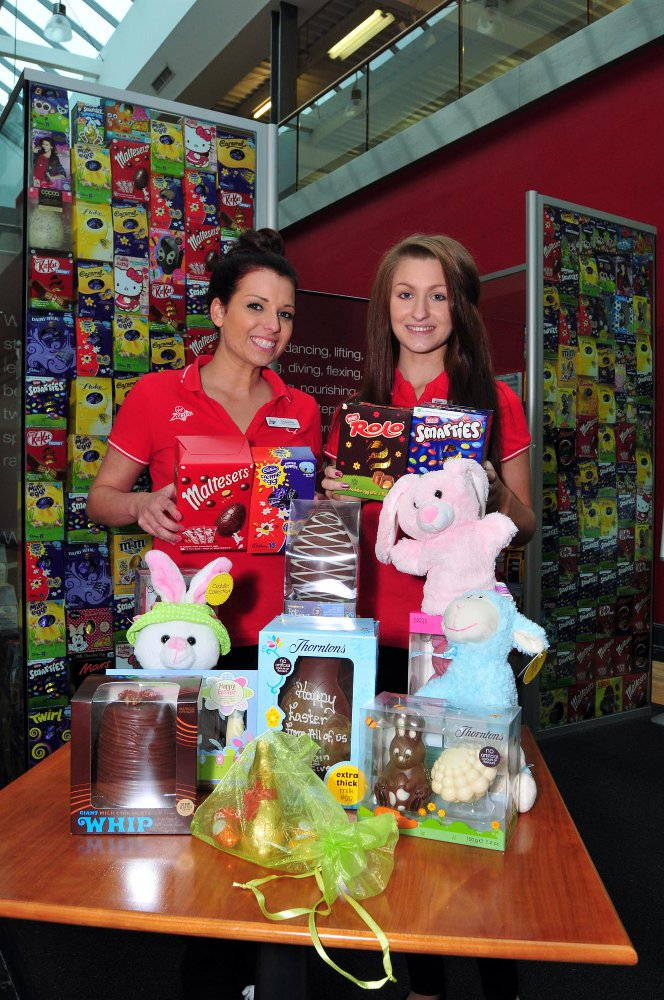 Gym members help Easter bunny by donating eggs to sick children