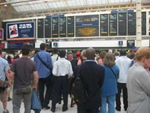 Severe rail delays across south-east London and north Kent after person killed by train