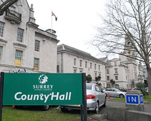 Surrey County Council has set up a task group to reduce congestion and the damage caused by companies digging up the county's roads