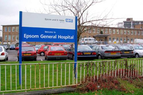 Epsom Hospital is being threatened with being stripped of its A&E