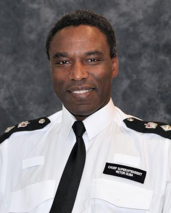 Haringey Borough Commander Victor Olisa said he was 'disappointed' by the comments from the Tottenham Traders' Partnership
