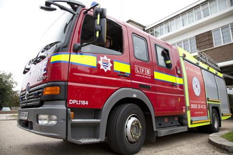 Left on iron causes Thamesmead flat fire