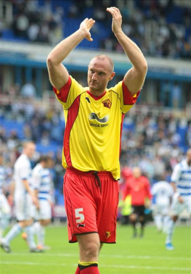Martin Taylor thanked Watford fans for their support following his departure to Sheffield Wednesday. Picture: Action Images