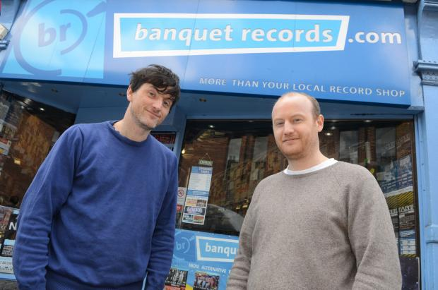 This Is Local London: Jon Tolley, manager, and Mike Smith of Banquet Records