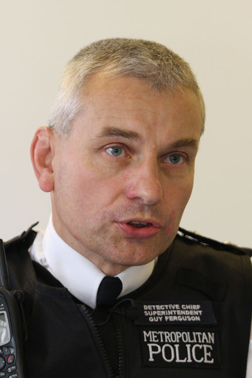 Outgoing Sutton borough commander Guy Ferguson is proud of the moment his officers saved a hamster which had fallen out of a window into the clutches of a cat