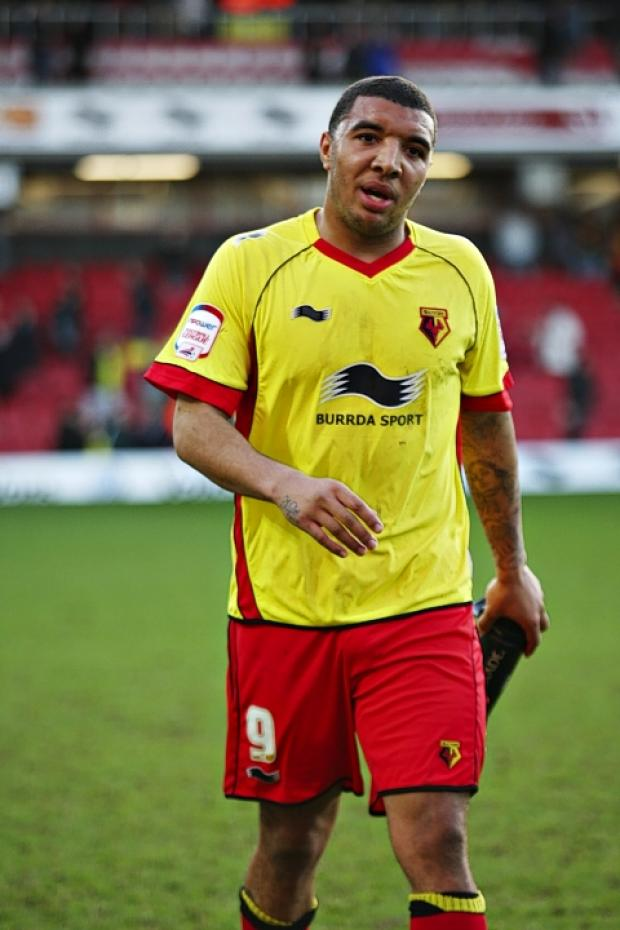 Troy Deeney was sentenced to ten months in prison for affray on June 25. Picture: Holly Cant