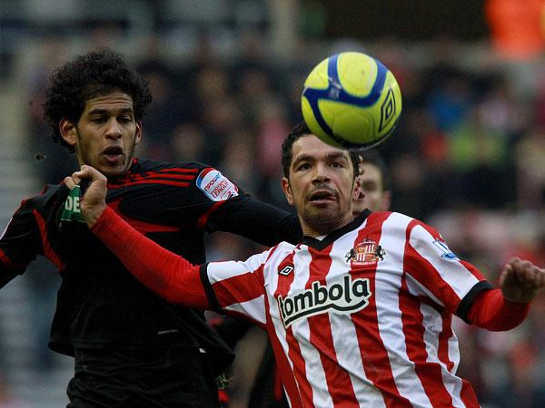 The Hammers have been linked with a move for Kieran Richardson: Action Images