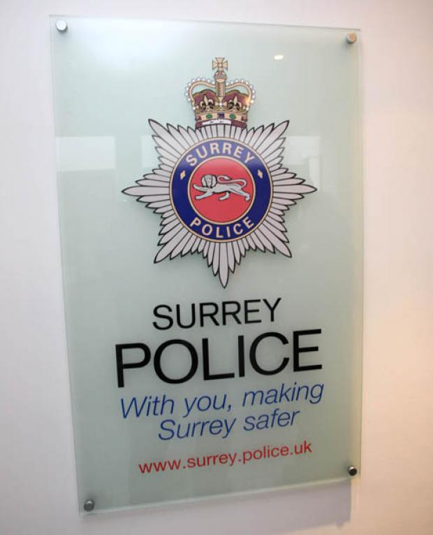 Surrey Police are appealing for information about an incident in which two muggers battered a man round the head in Miles Road, Epsom