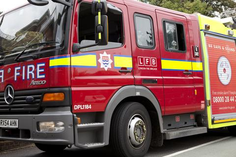 Diwali candles cause house blaze