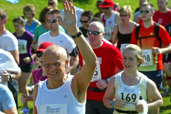Hundreds compete in inaugural Marlow 10k run, run by Marlow FM. The run has been shortlisted for community event category