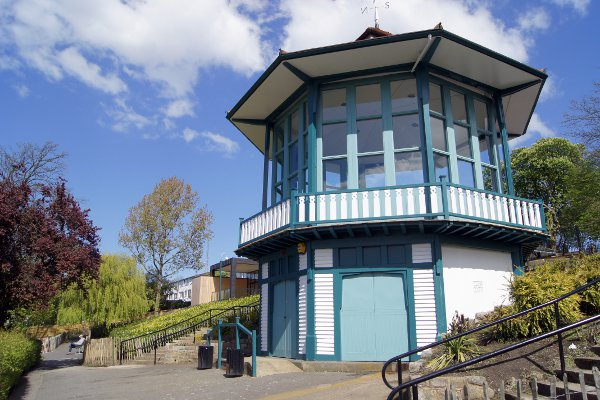 This Is Local London: The revamped bandstand, picture courtesy of Horniman Museum