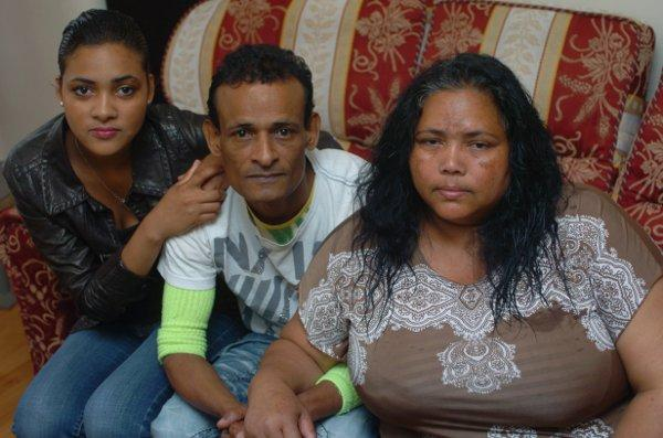Chagossians who want to go home: Yvan Ramsamy with wife Marie Francesse Monica and daughter Anna Marie Wrendy