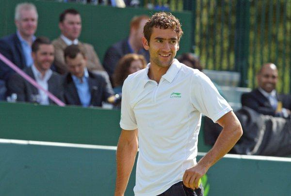 Marin Cilic, seen here in action at Boodles, believes Ivan Lendl's experience will be key to Andy Murray doing well at this year's Wimbledon
