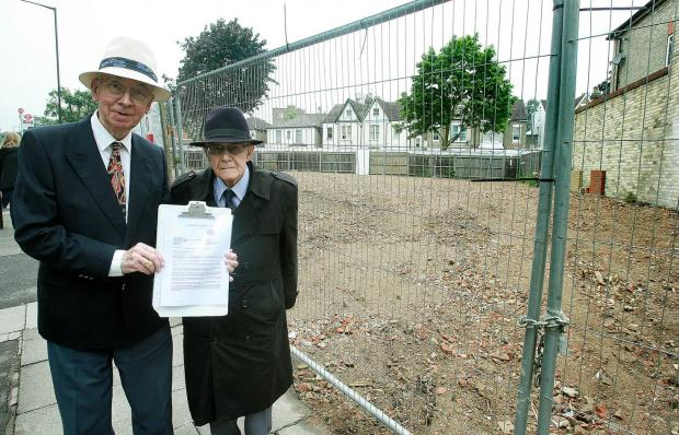 John Waller and Ron Lock want the council to give residents a chance to have their say.