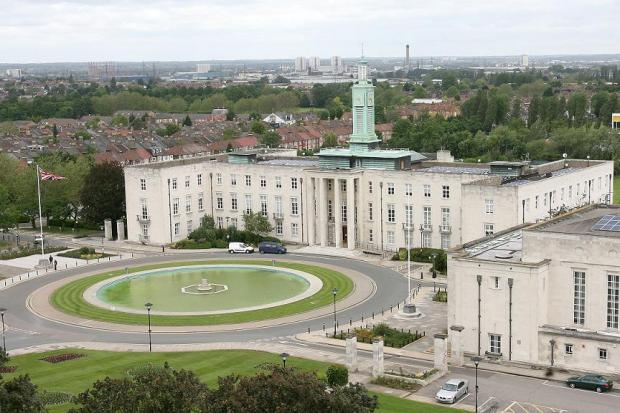 Waltham Forest Town Hall.