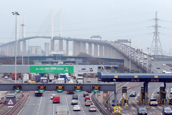 The Dartford Crossing.