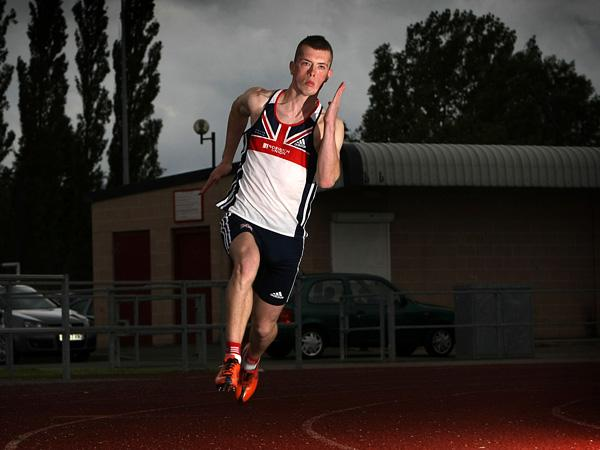HEARTBROKEN: Stockton sprinter Richard Kilty